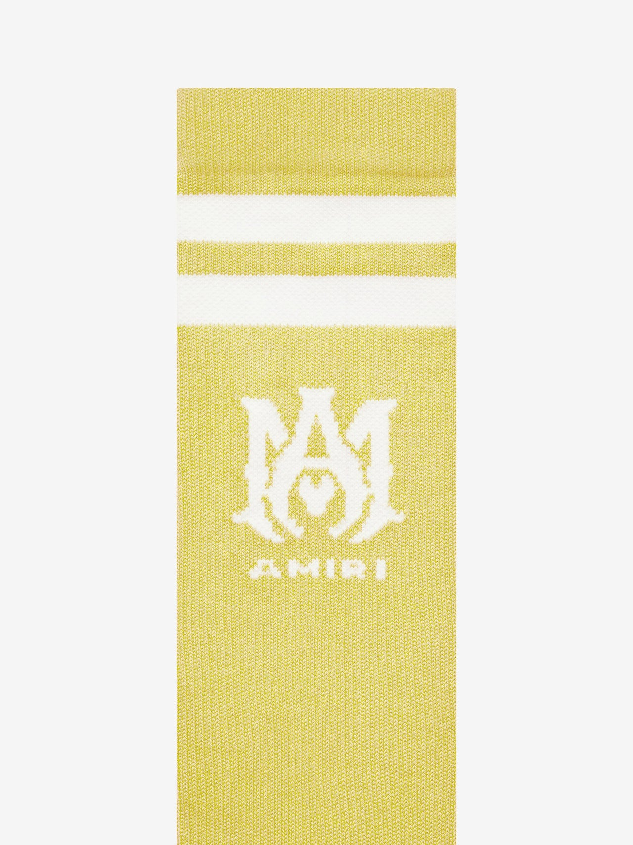 RIBBED M.A. ATHLETIC SOCKS - MUSTARD