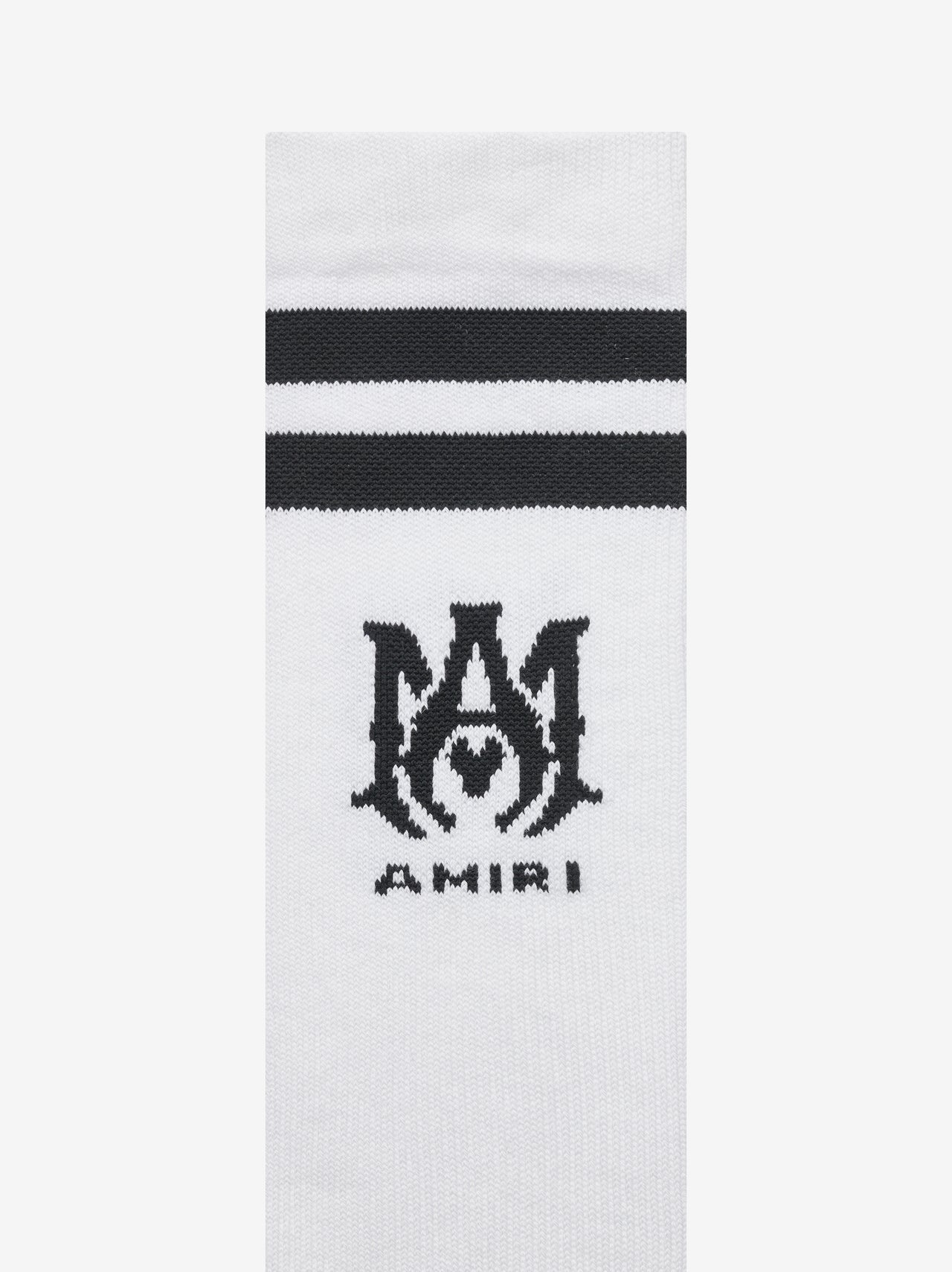 RIBBED M.A. SOCKS - BLACK