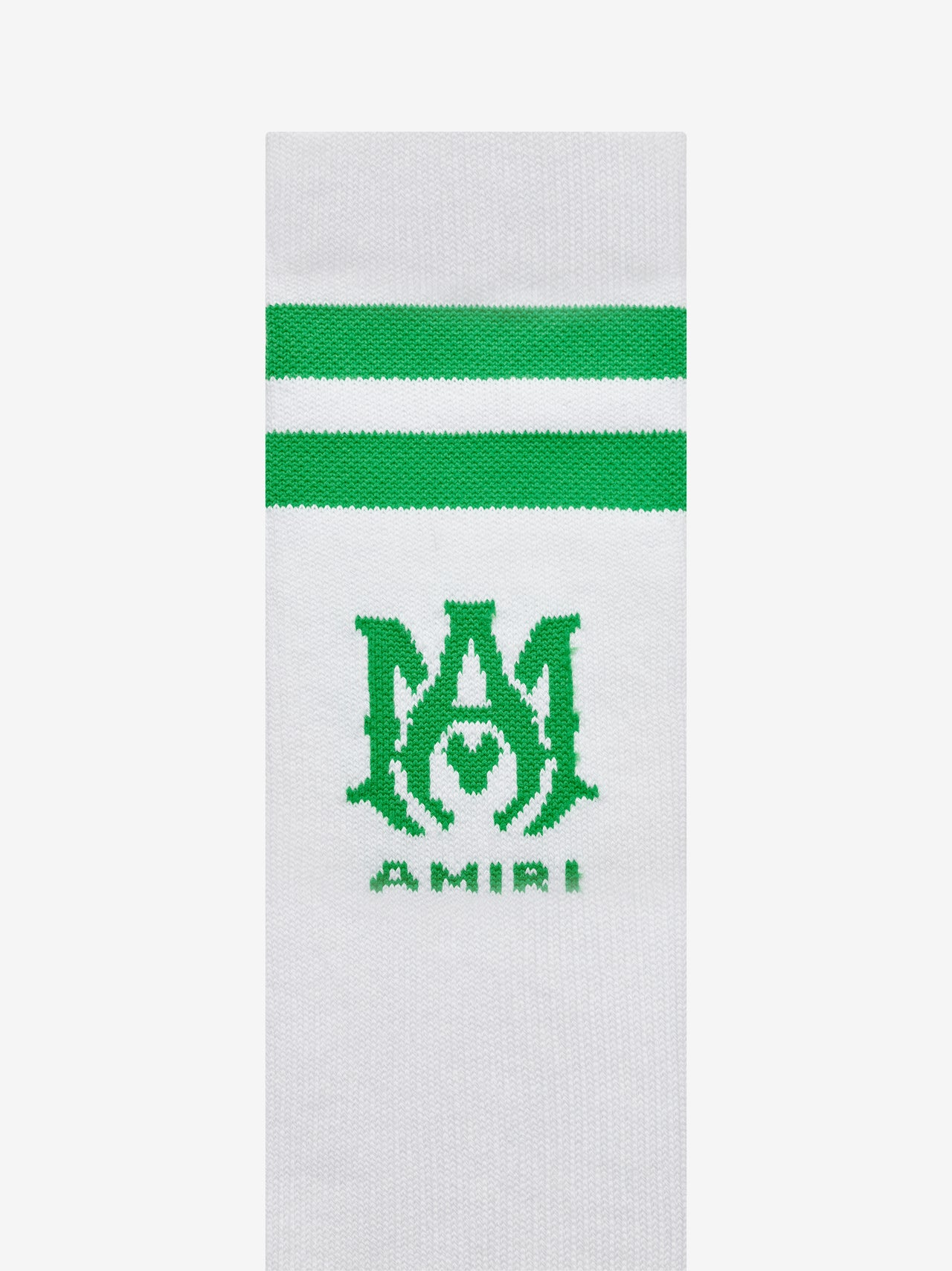 RIBBED M.A. SOCKS - TENNIS GREEN