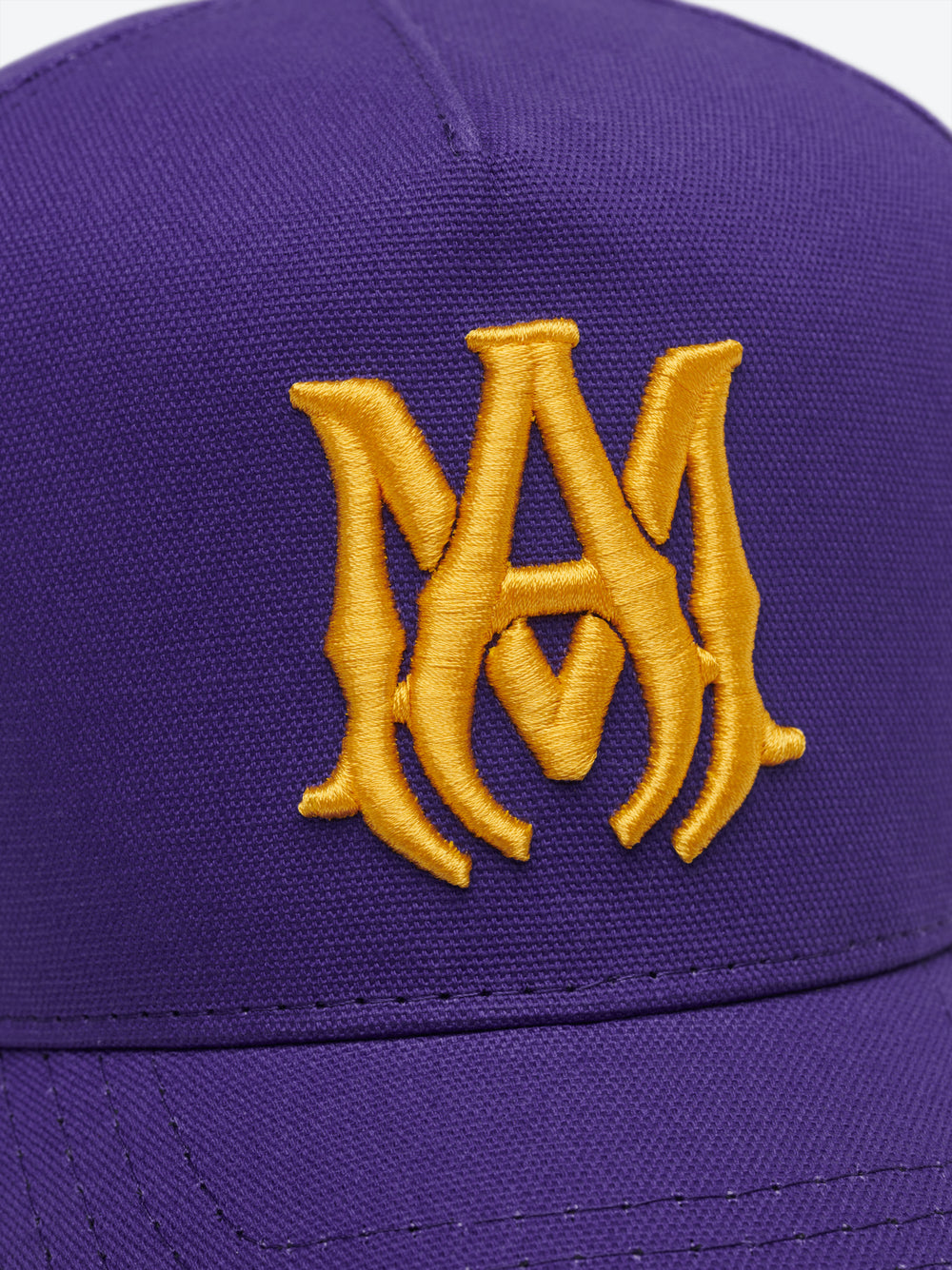 M.A. EMBROIDERED HAT - PURPLE