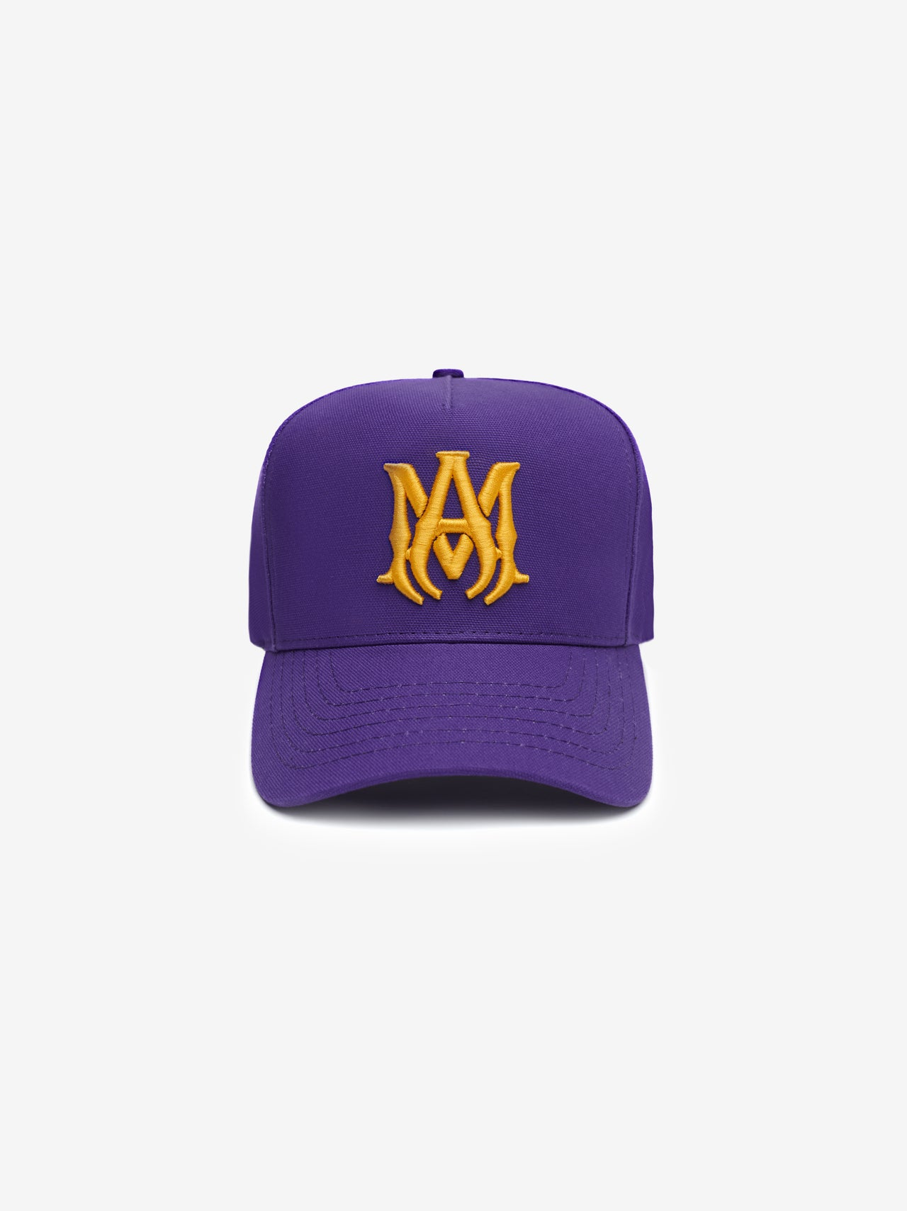 MA EMBROIDERED HAT - PURPLE