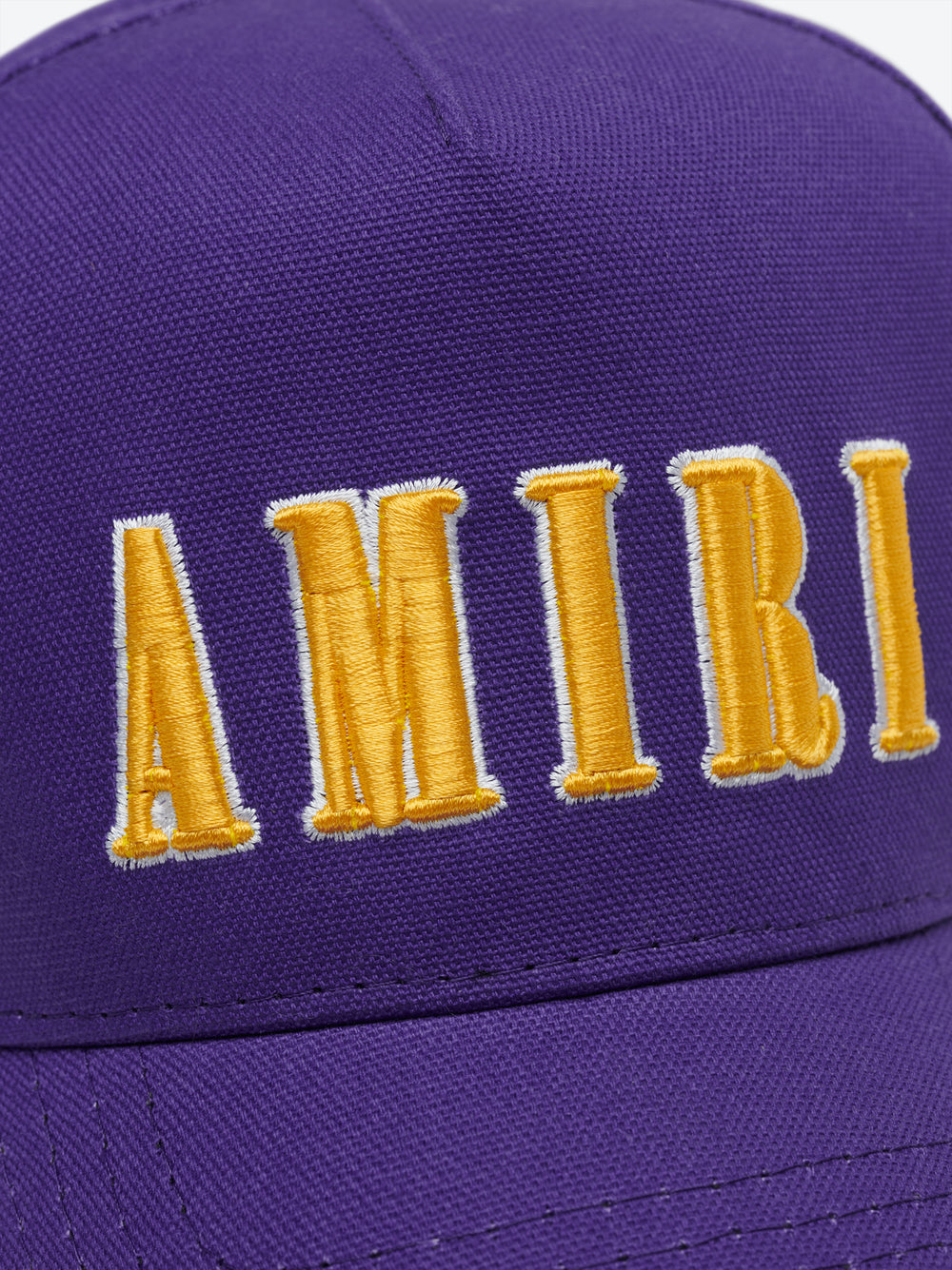 AMIRI EMBROIDERED HAT - Purple