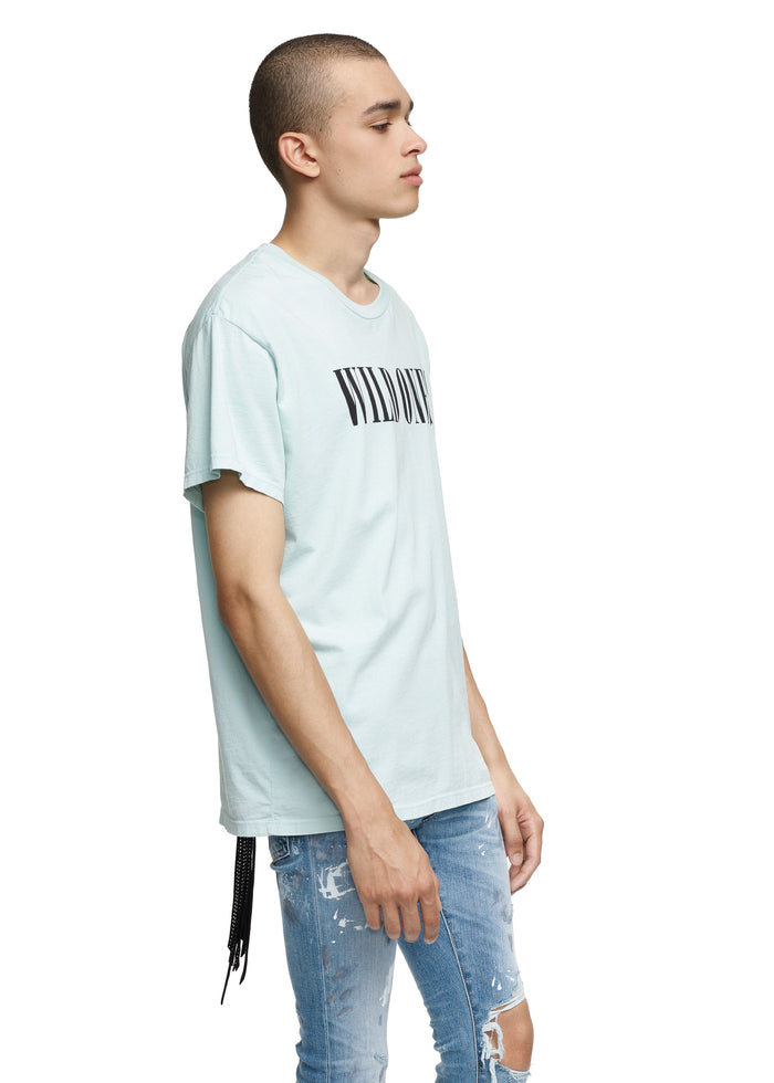 Wild Ones Tee Light Blue/Black