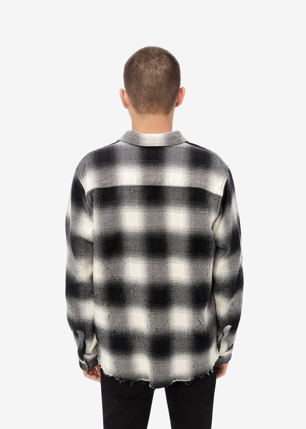 SHOTGUN FLANNEL - BLACK