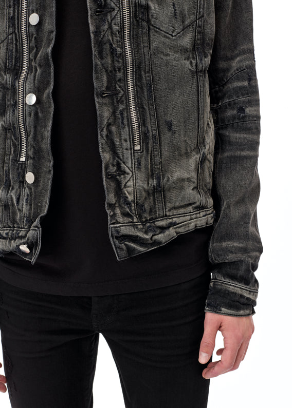 Bandana MX2 Trucker Jacket - Aged Black