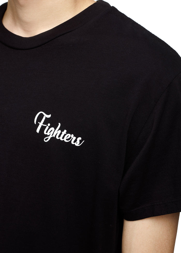 Fighters Tee Black/White