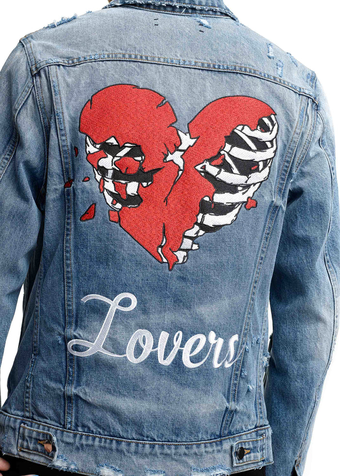 Lovers Trucker Medium Indigo