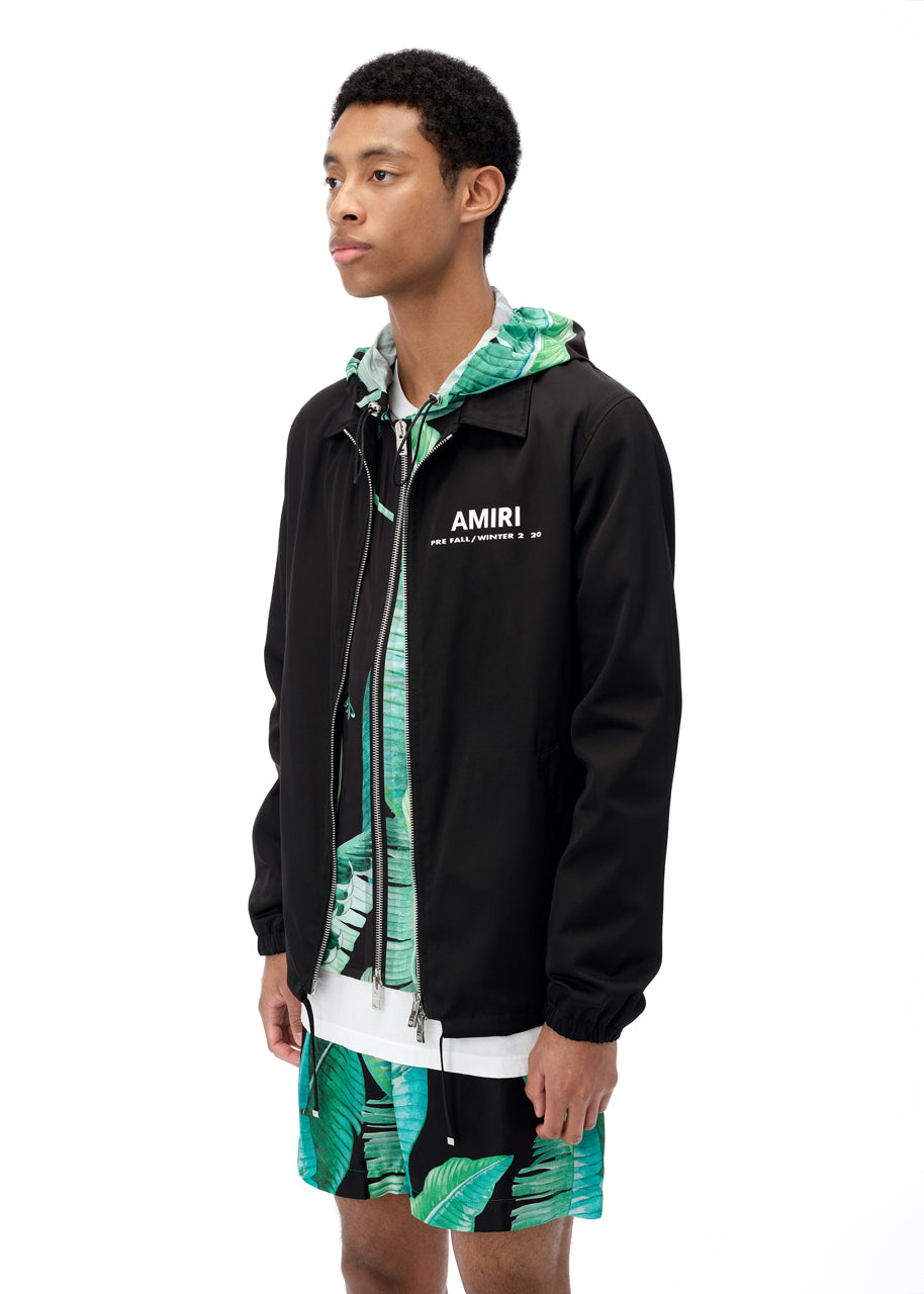 PF20 AMIRI Coaches Jacket - Black