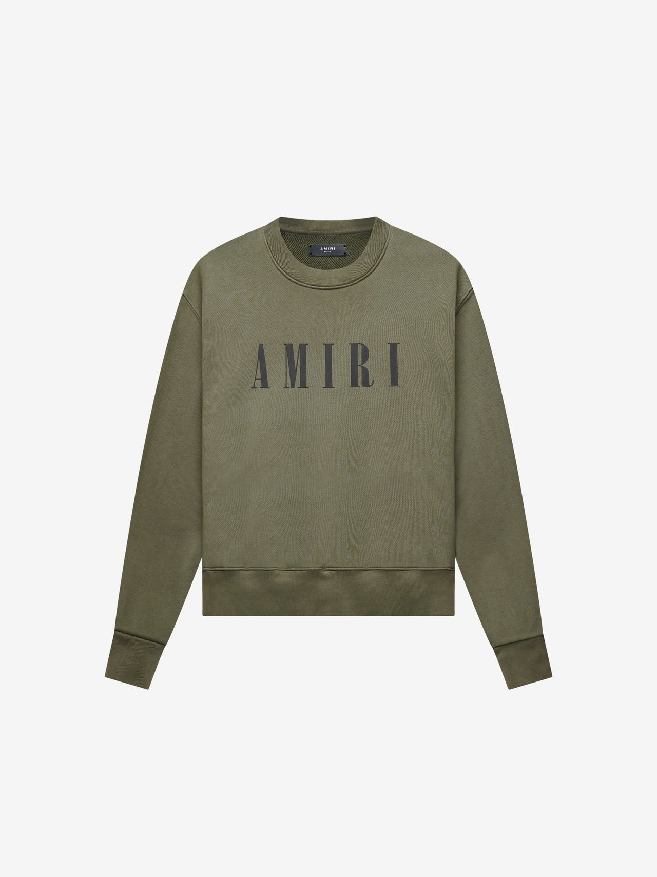 AMIRI CORE LOGO CREW - MILITARY GREEN
