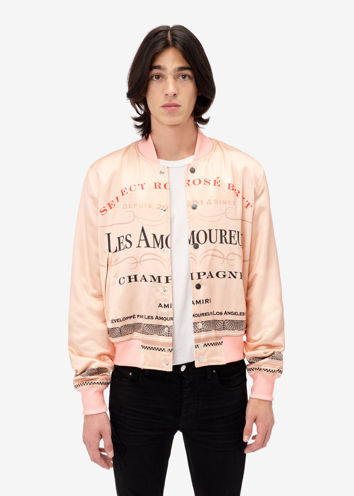 Les Amoureux Champagne Bomber - Peach