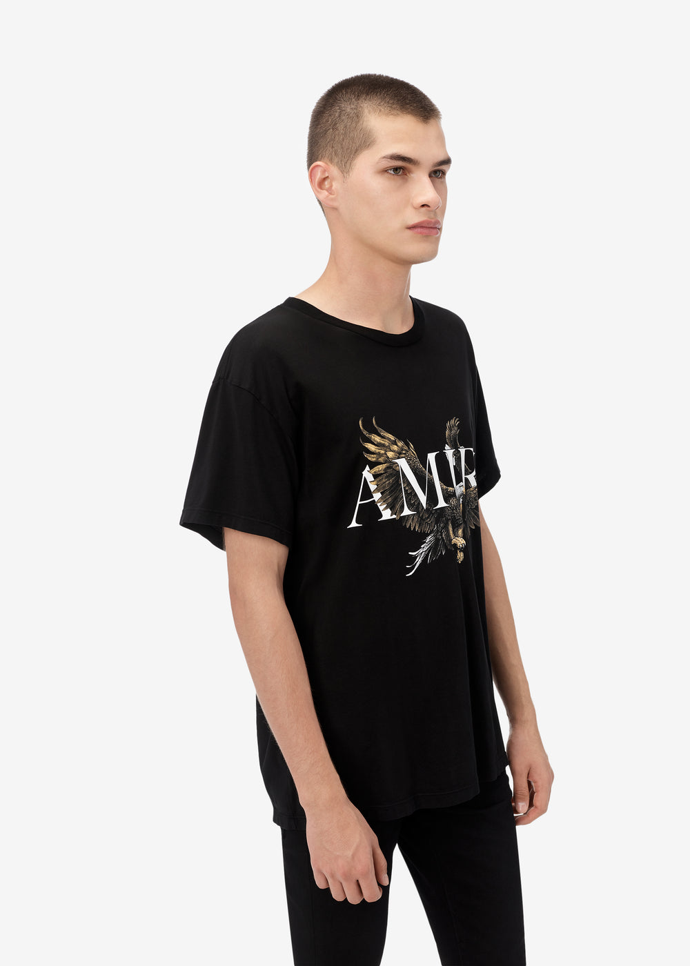 AMIRI EAGLE TEE - BLACK
