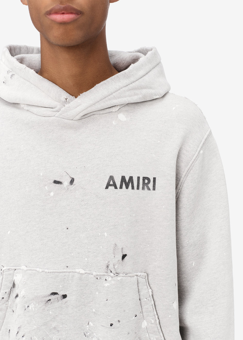 ARMY PAINT HOODIE - HEATHER GREY