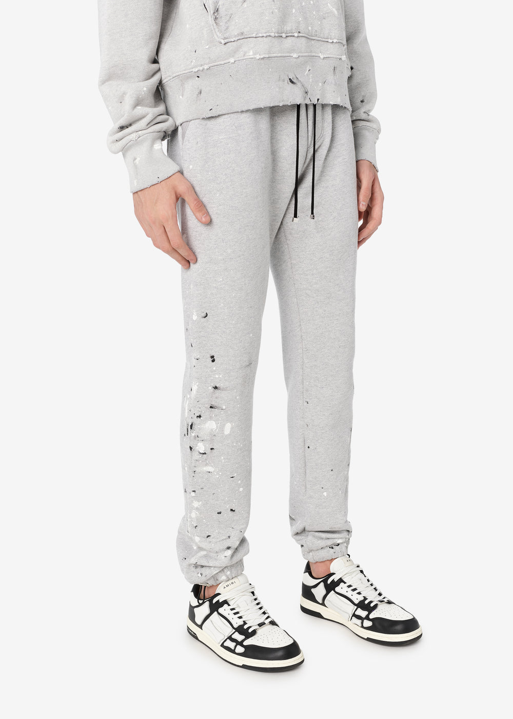 ARMY PAINT SWEATPANTS - HEATHER GREY