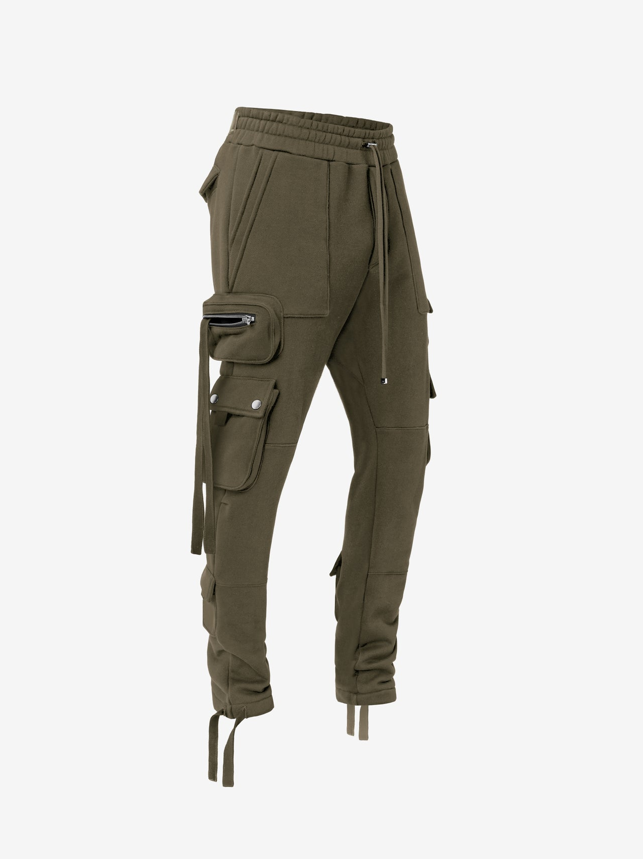 TACTICAL CARGO SWEATPANT - MILITARY GREEN