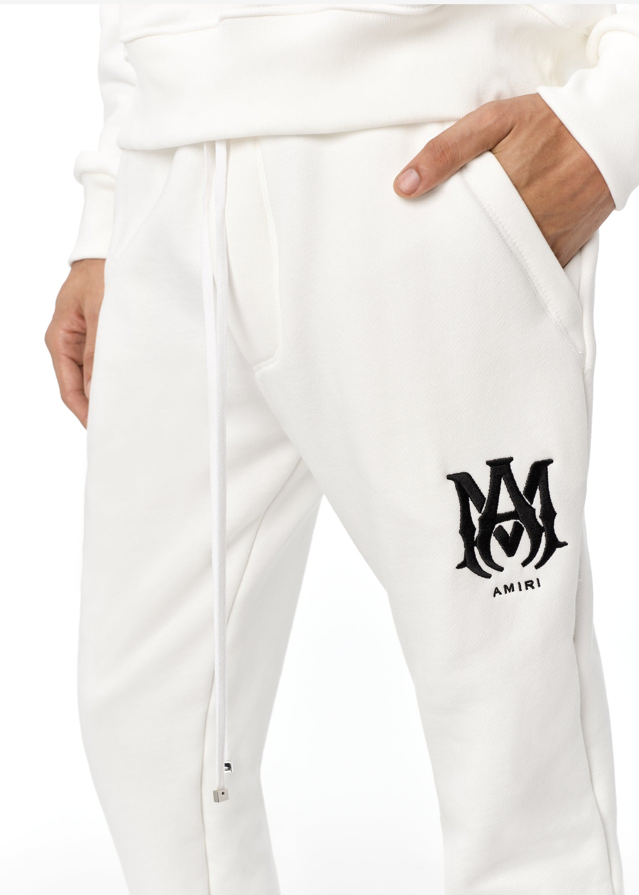 EXCLUSIVE M.A. SWEATPANTS - SNOW