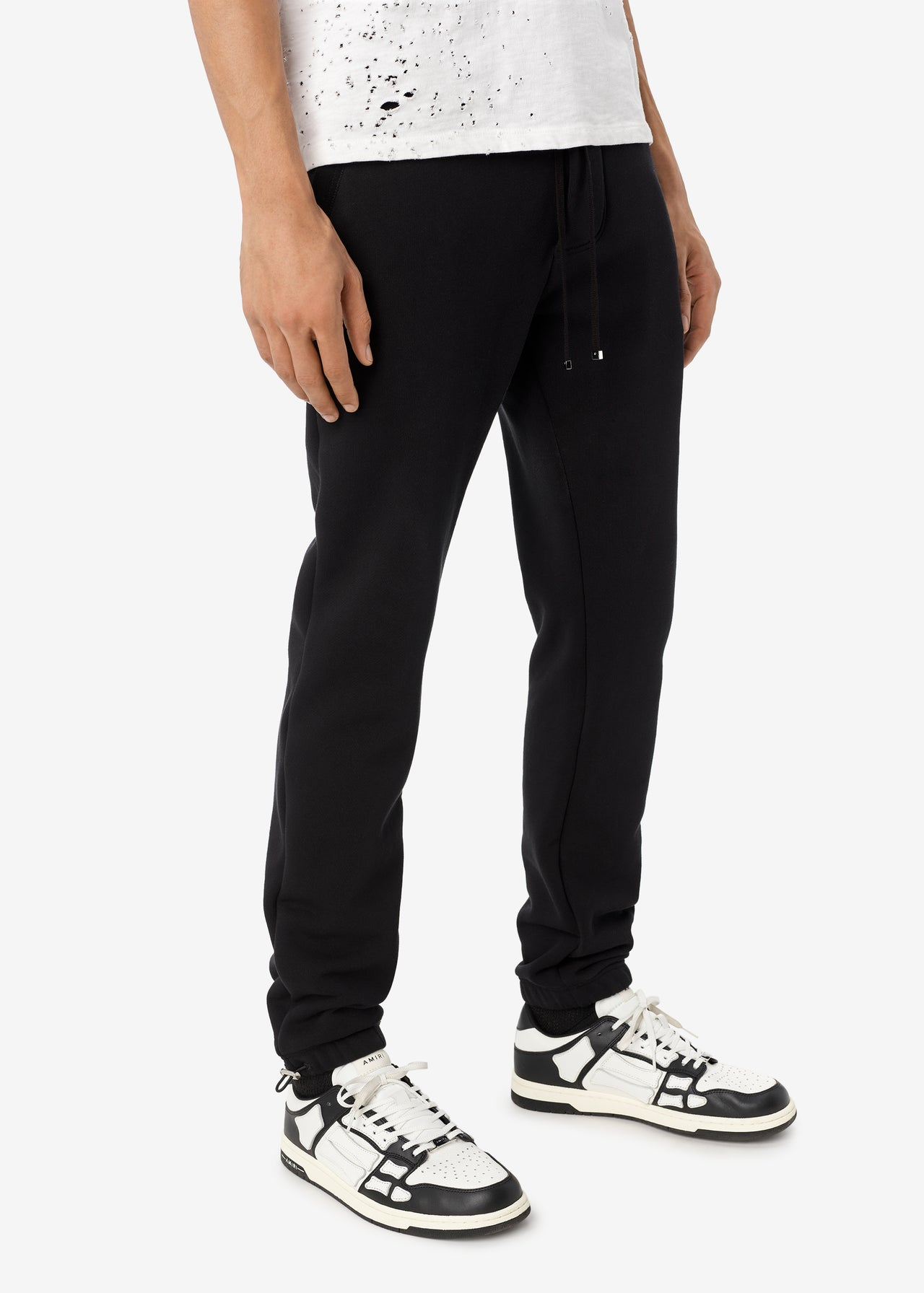EXCLUSIVE M.A. SWEATPANTS - BLACK / BLACK
