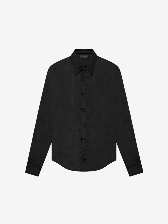 Exclusive Micro Paisley Shirt - Black