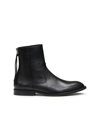 SHANE BOOT BLACK LEATHER
