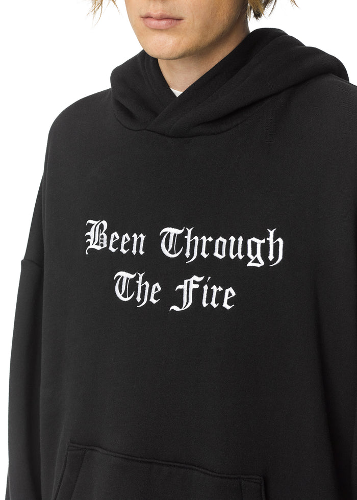 Been Through The Fire Hoodie Black