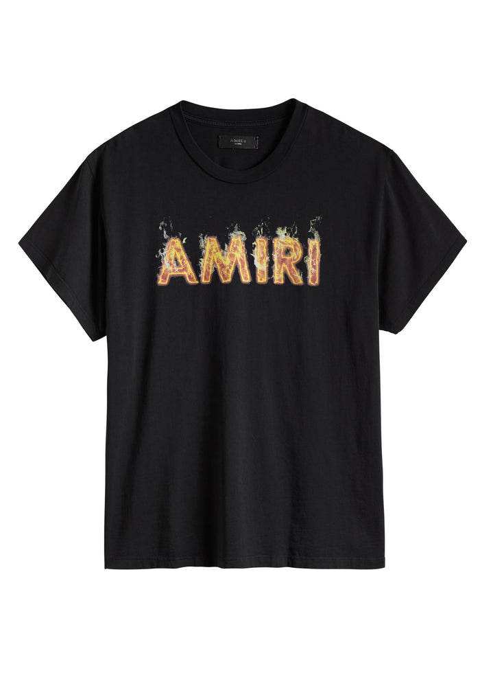 Flame AMIRI Tee Black