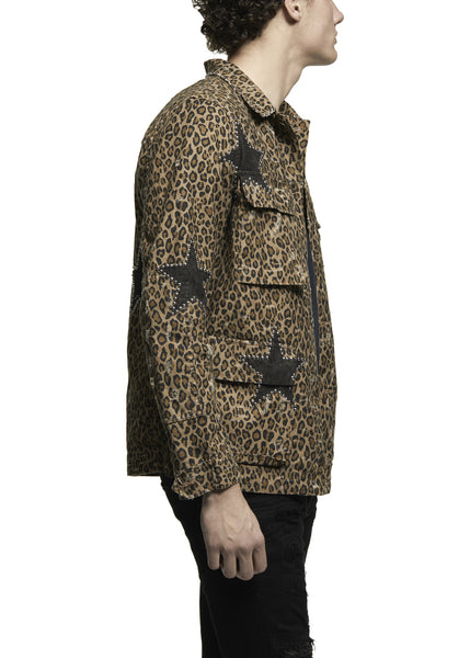 LEOPARD FIELD JACKET