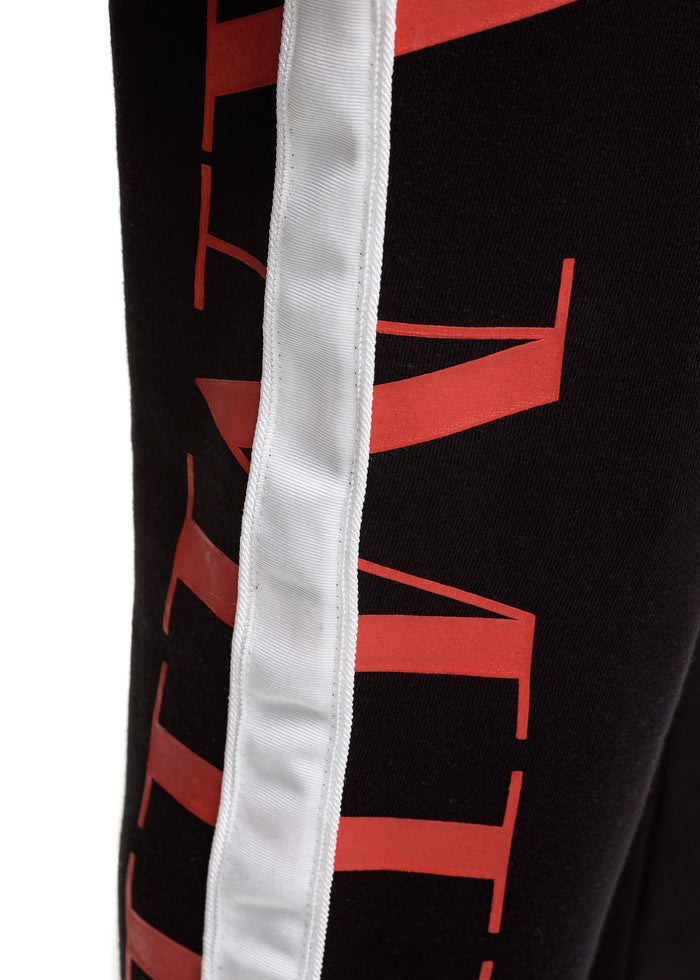 AMIRI Stripe Sweats Black/White