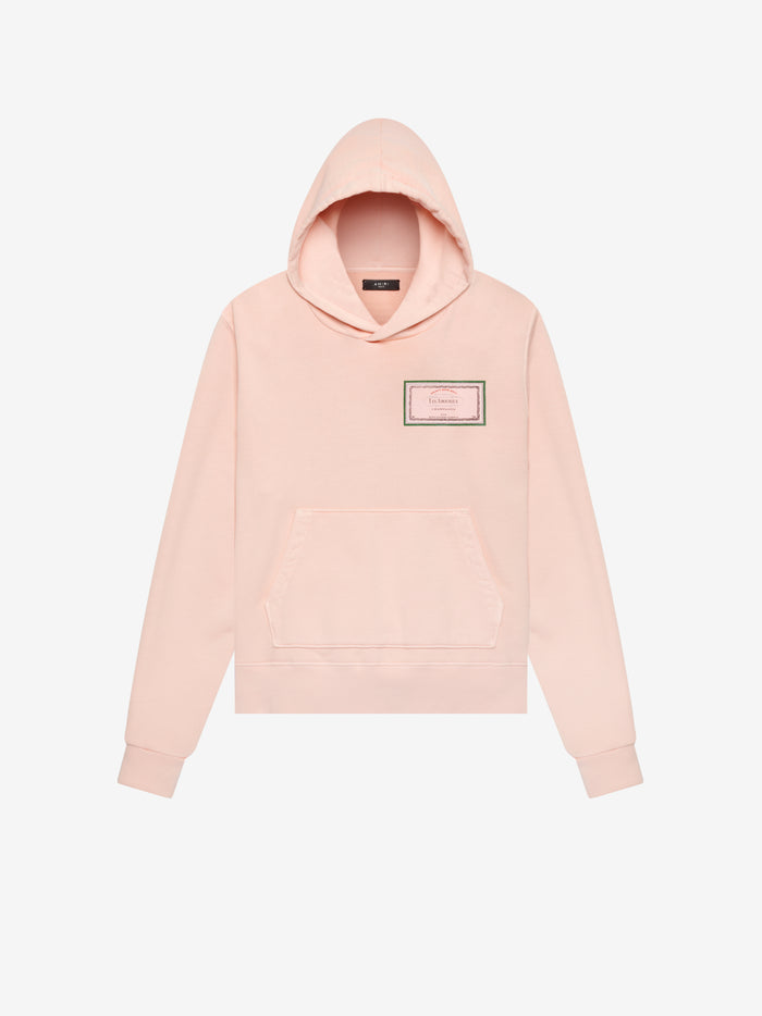 Les Amoureux Gel Label Hoodie Web Exclusive - Peach