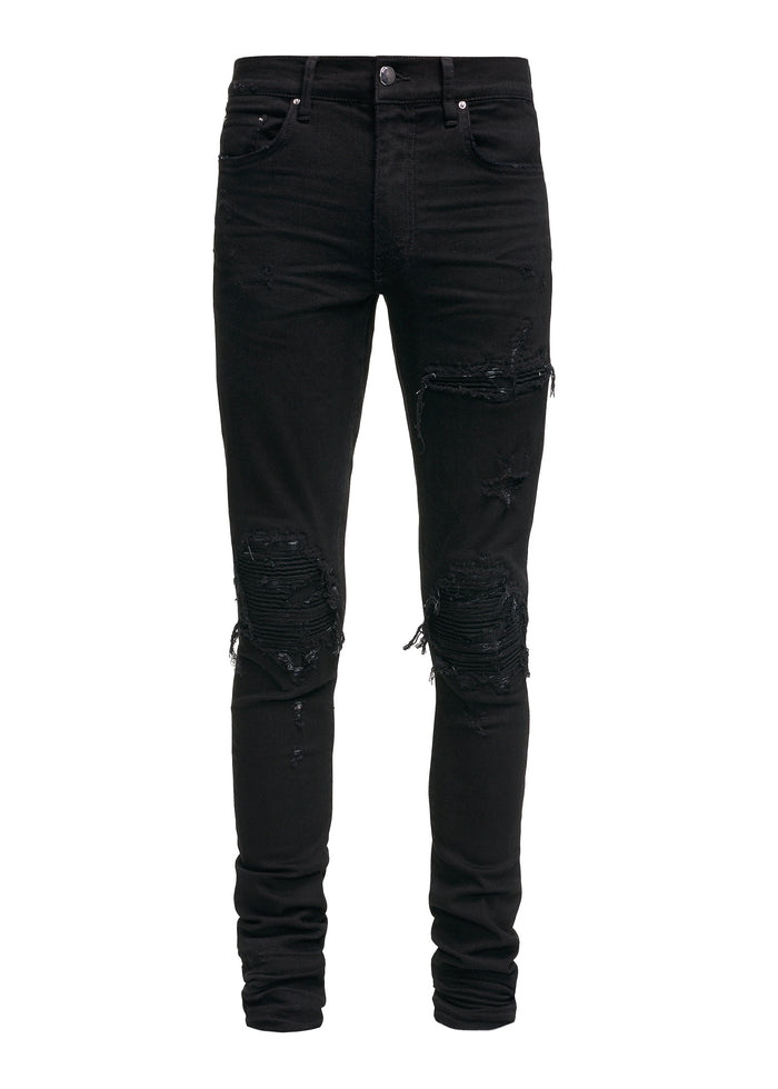 MX1 Patch Jean Black