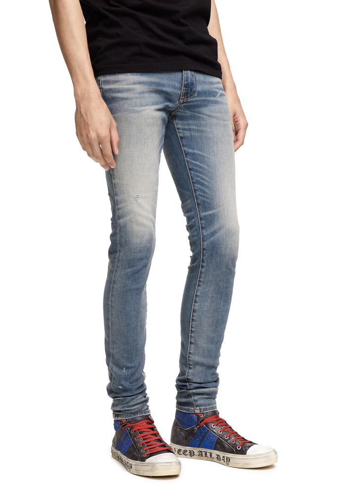 Stack Jean Medium Indigo