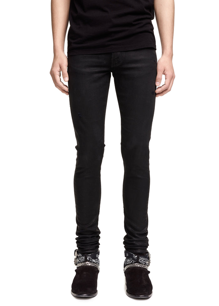 Stack Jean Black Wax