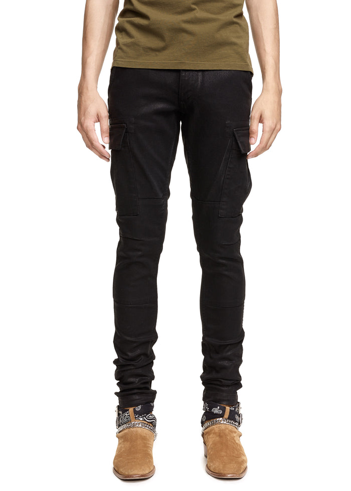 Denim Cargo Black Wax