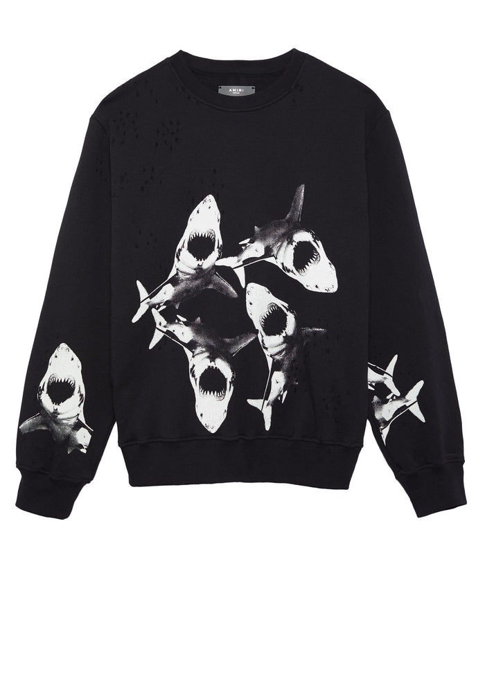Shark Crew Black/White