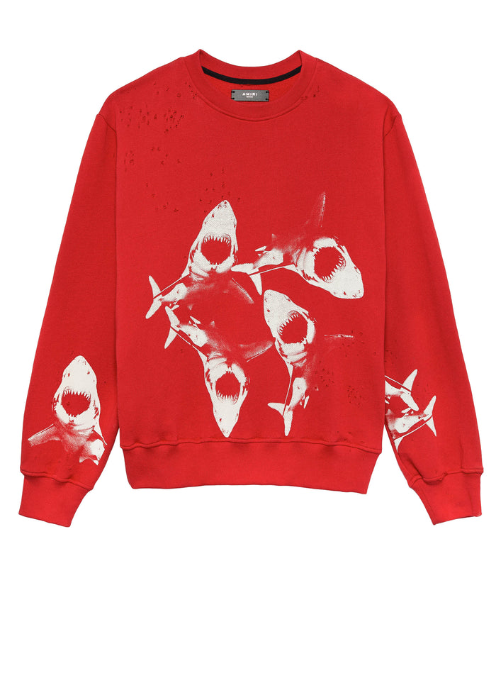 Shark Crew Red/White
