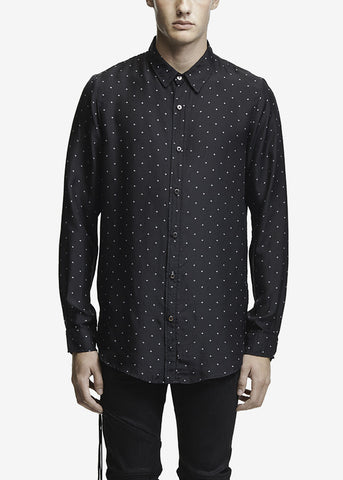 Silk Star Shirt Black