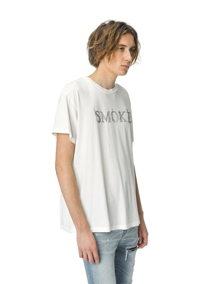 Smoke Tee Marshmallow