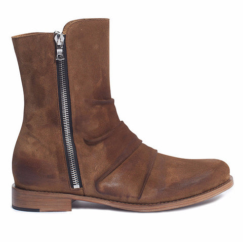 Stack Boot Brown