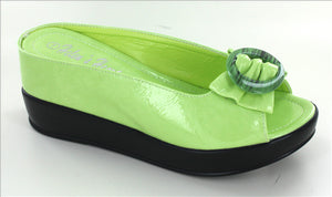 Green Ladies Casual Shoe