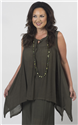 Rayon Bamboo Weave Style Top