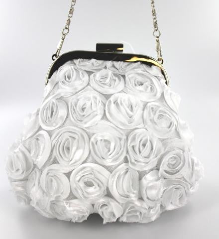 WHITE COLOR EVENING PURSES