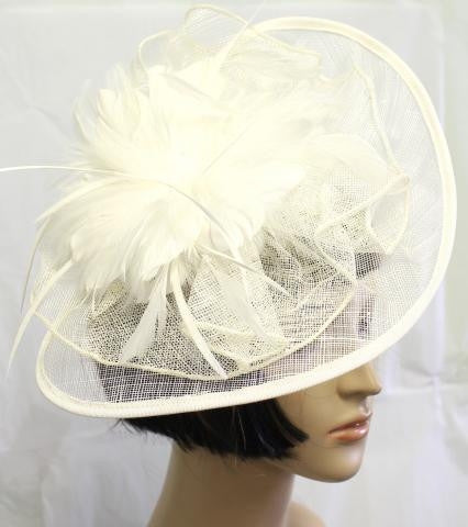 IVORY Southern Belle Wedding Hat