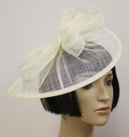 Ivory Knit Wedding Hat