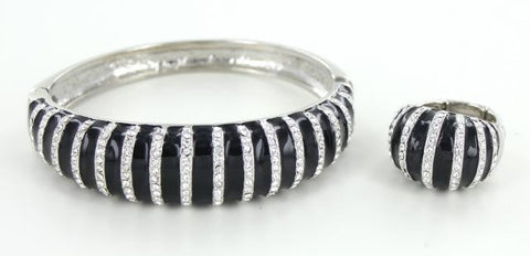 Stone Bangle Bracelet and Ring sets