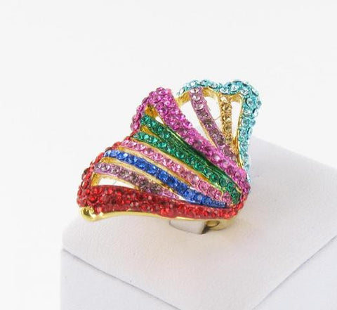 Multicolored Fashion Ring!