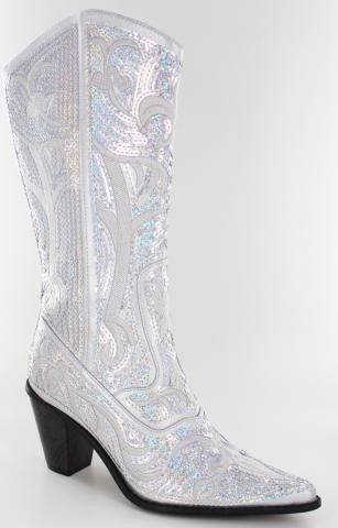 Silver V2 Bling Boots