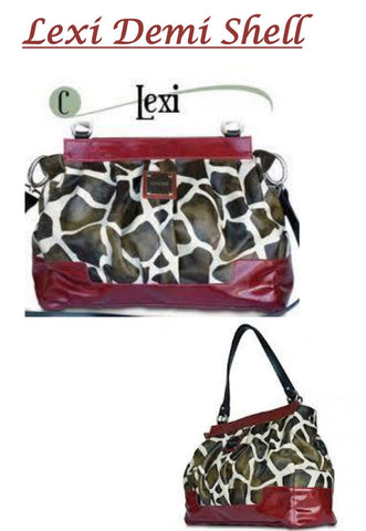 MICHE LEXI PRIMA (BIG BAG) GIRAFFE PRINT