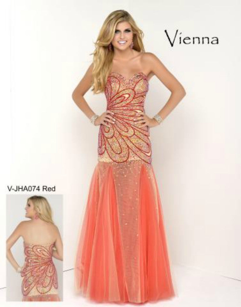 Any Occassion TURQUOISE OR RED w/jeweled front AND FLARE BOTTOM SIZE 2-10