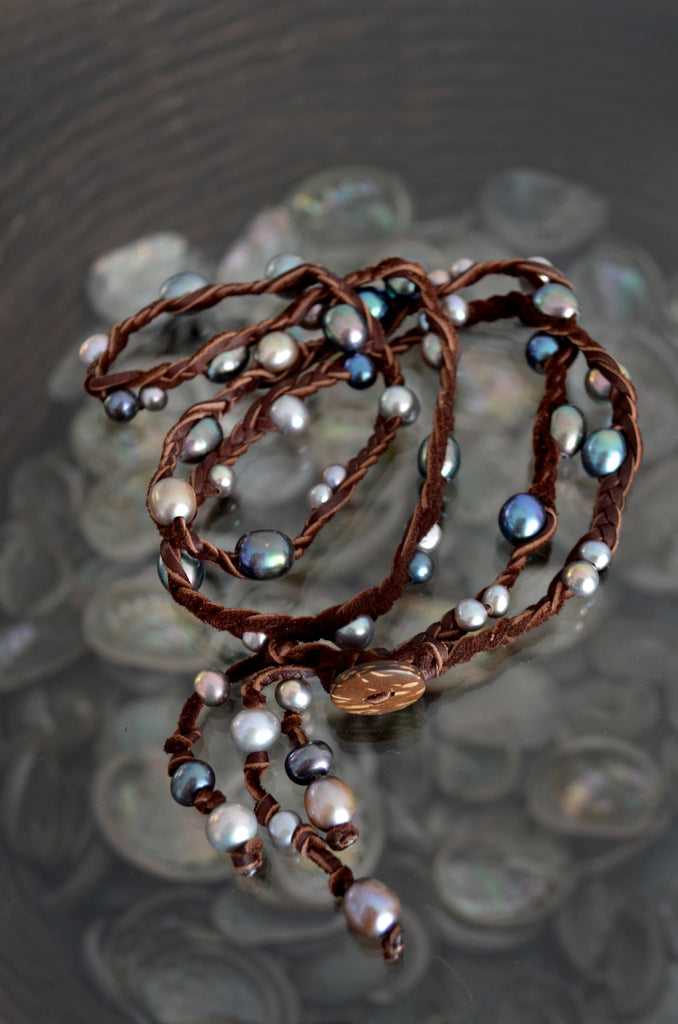 Five Wrap Necklace or Bracelet - Vyn