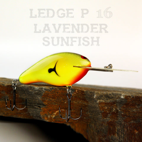 PH Custom Lures Ledge P 16 in Lavender Sunfish