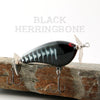 PH Custom Lures Squeaky P in Black Herringbone