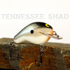 Old School Balsa Baits Squarebill 1 in Tennessee Shad